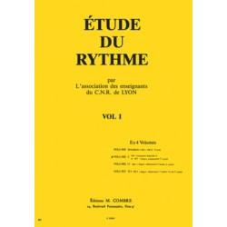 C.N.R. de Lyon - Etude du rythme Vol.1