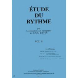 C.N.R. de Lyon - Etude du rythme Vol.2 ELEMENTAIRE 1