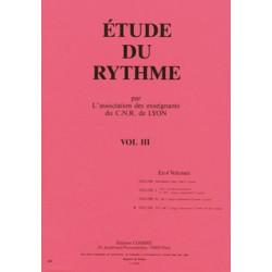 C.N.R. de Lyon - Etude du rythme Vol.3 ELEMENTAIRE 2
