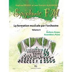 DRUMM Siegfried / ALEXANDRE Jean François Symphonic FM Vol.4 : Elève : Guitare, Harpe, Accordéon et Piano