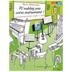 Olivier Vonderscher N'oubliez pas votre instrument PROF - Vol. 2