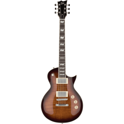 LTD EC256FM DARK BROWN SUNBURST