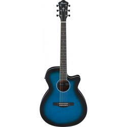 IBANEZ AEG7TBO TRANSPARENT BLUE