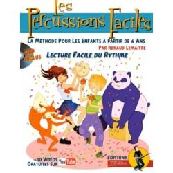 Renaud Lemaître Les Percussions Faciles REBILLARD