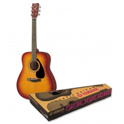 PACK GUITARE FOLK ACOUSTIQUE YAMAHA F310 PACK SUNBURST GUITARE FOLK
