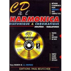 CD A L'HARMONICA DIATONIQUE & CHROMATIQUE