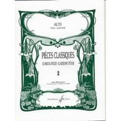 PIECES CLASSIQUES VOL.2 POUR ALTO ET PIANO