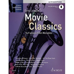 Movie Classics - 14 Famous Film Melodies saxo alto