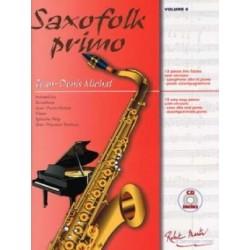 SAXOFOLK PRIMO volume 0 JEAN DENIS MICHAT