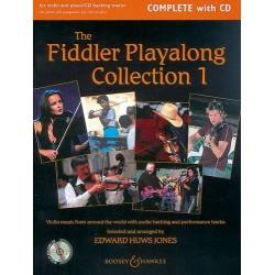 Jones Edward Huws The Fiddler Playalong Violon Collection 1