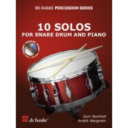 Bomhof Gert / Waignein André 10 Solos For Snare Drum And Piano