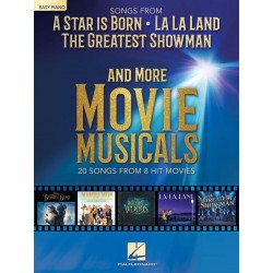 Songs from A Star Is Born and More Movie Musicals easy piano