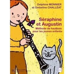 Monnier Delphine / Challéat Ombeline Séraphine et Augustin methode hautbois