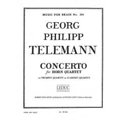 TELEMANN Concerto Georg Philipp Telemann Robert King Music For Brass N° 304