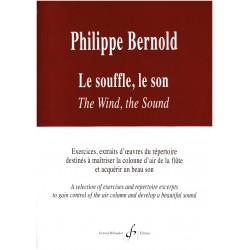 Philippe Bernold Le souffle Le son