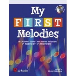 Michiel Oldenkamp My First Melodies AVEC CD.