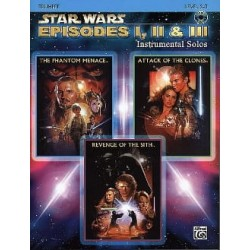 STAR WARS EPISODES I II III INSTRUMENTAL SOLOS TRUMPET