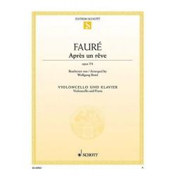 FAURE GABRIEL APRES UN REVE