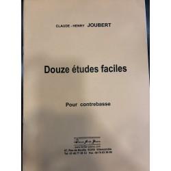 JOUBERT CLAUDE-HENRY DOUZE ETUDES FACILES