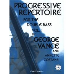 VANCE GEORGE PROGRESSIVE REPERTOIRE FOR THE DOUBLE BASS VOL.1