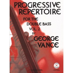 VANCE GEORGE PROGRESSIVE REPERTOIRE FOR THE DOUBLE BASS VOL.2