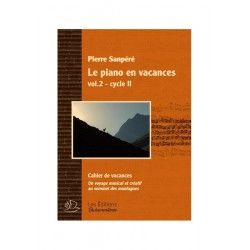 SANPERE LE PIANO EN VACANCES VOL2 CYCLE II