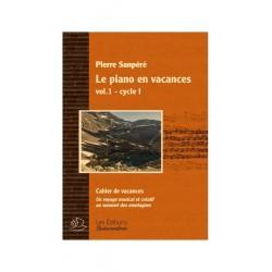 SANPERE LE PIANO EN VACANCES VOL1 CYCLE I