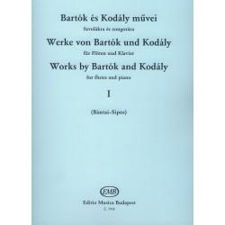BARTOK Werke von Bartok und Kodaly - Bd. 1 - Flöte Klavier