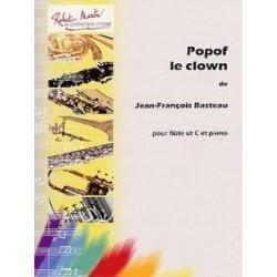 Jean-François Basteau Popof le Clown Partition - Flûte et Piano