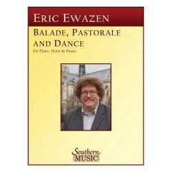 ewazen balade pastorale et dance pour flute cor et piano