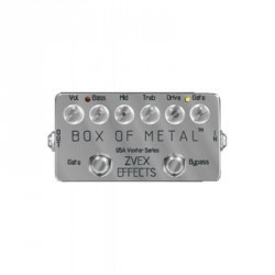 PEDALE EFFET ZVEX BOX OF METAL USA VEXTER DISTORTION