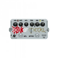 PEDALE EFFET ZVEX BOX OF METAL VEXTER DISTORTION