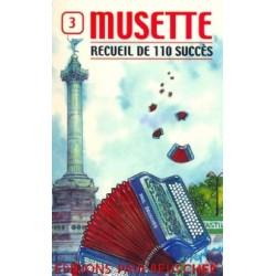 110 Succes Musette N°3 Accordeon - Partitions
