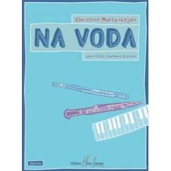 Christine Marty-Lejon Na Voda flûte-hautbois et piano Lemoine