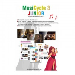 MUSICYCLE 3 JUNIOR