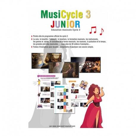 MUSICYCLE 3 JUNIOR