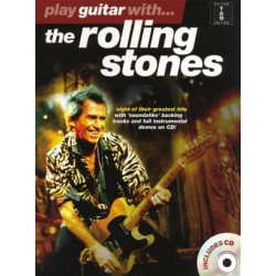 Play Guitar With... The Rolling Stones~ Morceaux d'Accompagnement (Tablature Guitare (Symboles d'Accords))