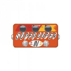 PEDALE EFFET ZVEX SUPER DUPER PREAMPLI/BOOSTER
