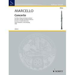 Alessandro Marcello Concerto en Ré Mineur hautbois et piano