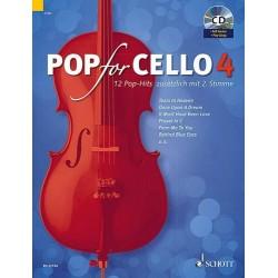 Pop For Cello - Volume 4