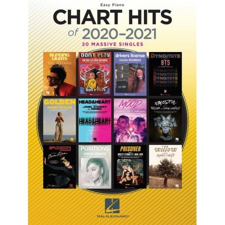 CHART HITS 2020-2021 EASY PIANO