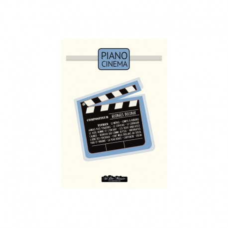 PIANO CINEMA GEORGES DELERUE