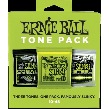 ERNIE BALL TONE PACK DE 3 JEUX ELECTRIQUE 10-46