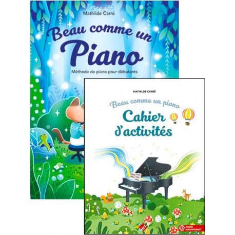 CARRE BEAU COMME UN PIANO AVEC CAHIER ACTVITES