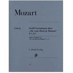 Mozart 12 Variations sur à vous dirais je maman