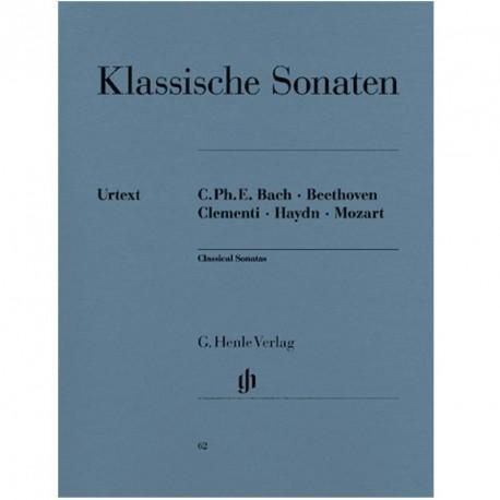Sonates classique pour piano