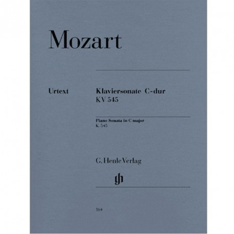 MOZART Sonate pour piano ut majeur KV 545