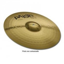 CYMBALE CRASH PAISTE 101 Brass 14
