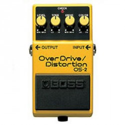 PEDALE D EFFET BOSS OS2 OVERDRIVE/DISTORTION