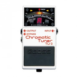 PEDALE ACCORDEUR BOSS TU3 CHROMATIC TUNER